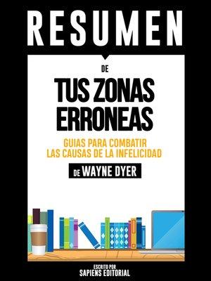 cover image of Tus Zonas Erroneas