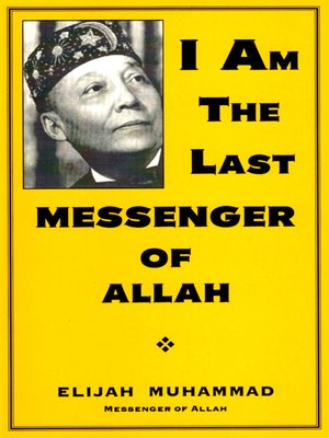 cover image of I Am the Last Messenger of Allah