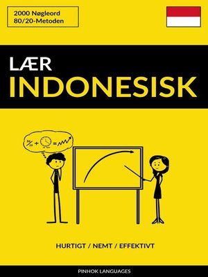 cover image of Lær Indonesisk