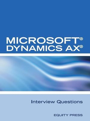 cover image of Microsoft® Dynamics AX® Interview Questions