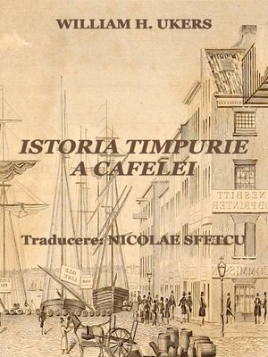 cover image of Istoria timpurie a cafelei