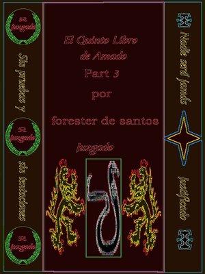 cover image of El Quinto Libro de Amado Parte 3