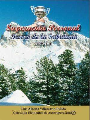 cover image of Superación Personal, Tesoro de la Sabiduría- Tomo III