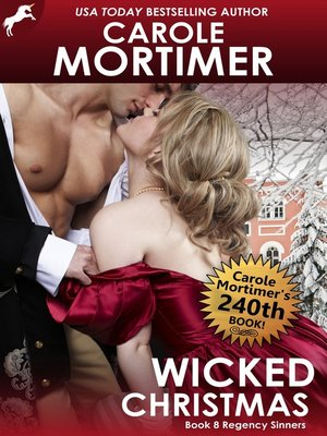 cover image of Wicked Christmas (Regency Sinners 8)