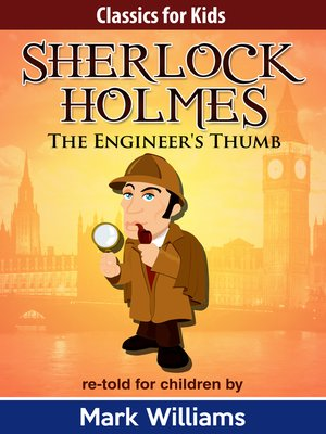 cover image of Sherlock Holmes re-told for children