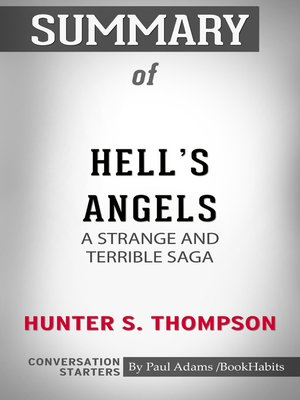 cover image of Summary of Hell's Angels