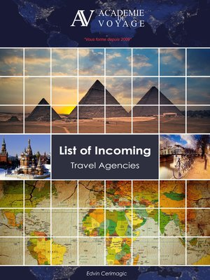 cover image of List of Incoming Travel Agencies