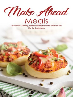 cover image of Make Ahead Meals