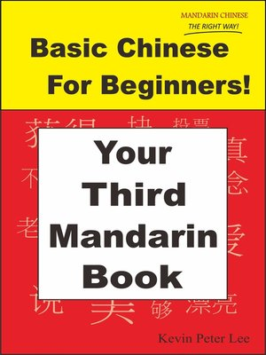 cover image of Basic Chinese For Beginners! Your Third Mandarin Book