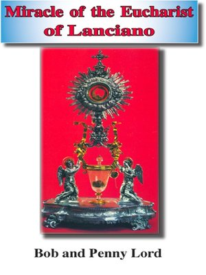 cover image of Miracle of the Eucharist of Lanciano