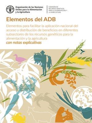cover image of Elementos del ADB