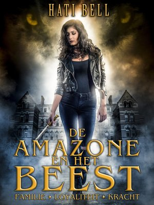 cover image of De amazone en het beest