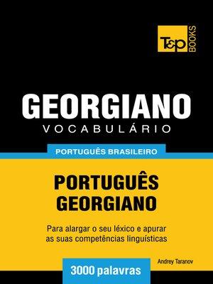 cover image of Vocabulário Português Brasileiro-Georgiano