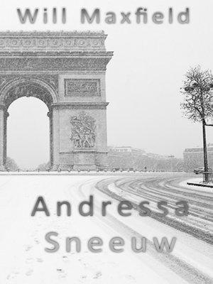 cover image of Andressa Sneeuw
