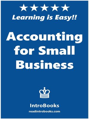 cover image of Accounting for Small Business