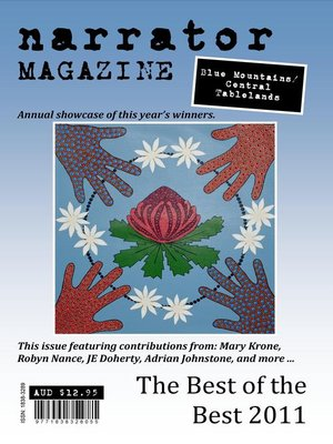 cover image of Narrator Magazine Best of the Best 2011 Blue Mountains/Central Tablelands