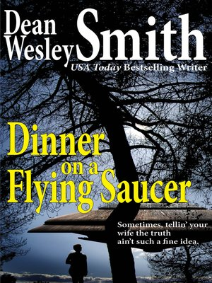 cover image of Dinner on a Flying Saucer