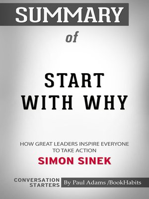 cover image of Summary of Start with Why