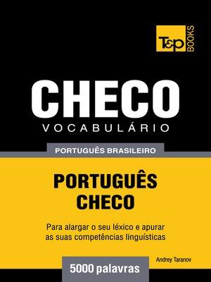 cover image of Vocabulário Português Brasileiro-Checo