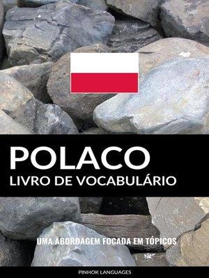 cover image of Livro de Vocabulário Polaco