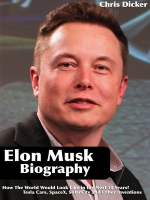 cover image of Elon Musk Biography