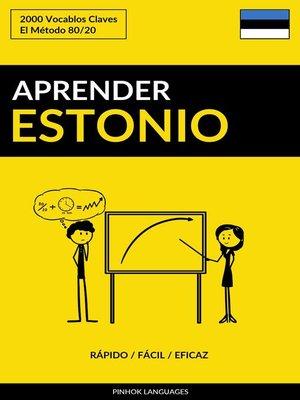 cover image of Aprender Estonio