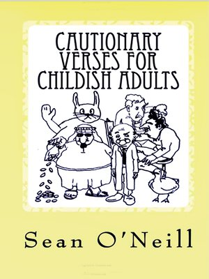 cover image of Cautionary Verses for Childish Adults
