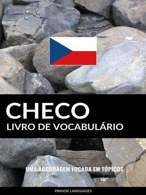 cover image of Livro de Vocabulário Checo