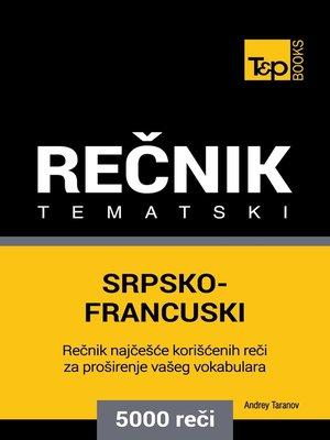 cover image of Srpsko-Francuski tematski rečnik