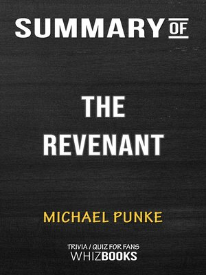 cover image of Summary of the Revenant