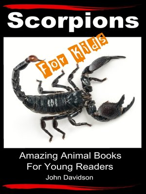 cover image of Scorpions For Kids