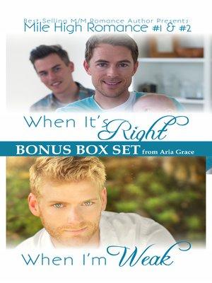 cover image of Mile High Romance Box Set Books 1 & 2