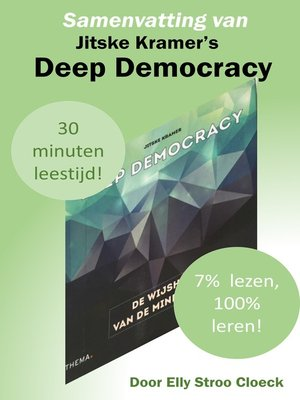 cover image of Samenvatting van Jitske Kramer's Deep Democracy