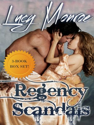 cover image of Regency Scandals Box Set