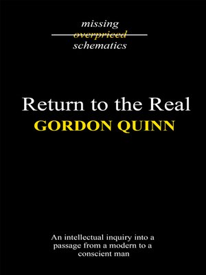 cover image of Return to the Real