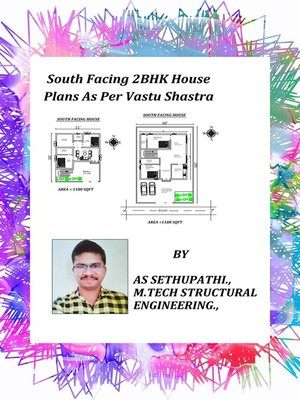 cover image of South Facing 2BHK House Plans As Per Vastu Shastra