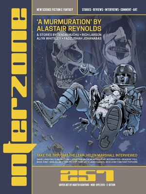 cover image of Interzone #257 (Mar--Apr 2015)
