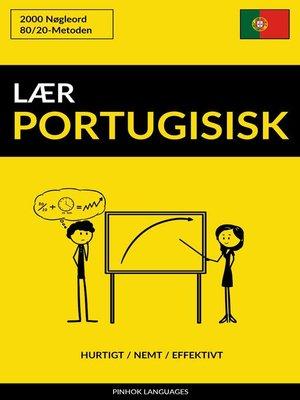 cover image of Lær Portugisisk