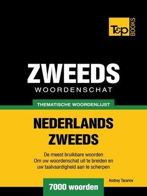 cover image of Thematische woordenschat Nederlands-Zweeds