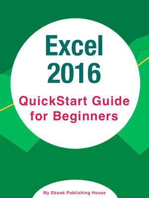 cover image of Excel 2016