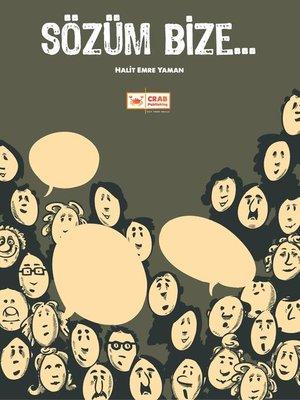 cover image of Sözüm Bize