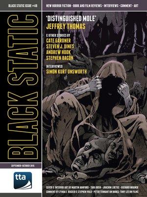 cover image of Black Static #48 (September-October 2015)