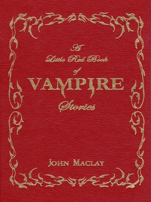 cover image of A Little Red Book of Vampire Stories