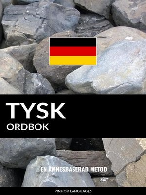 cover image of Tysk ordbok