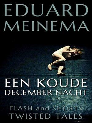 cover image of Een koude decembernacht