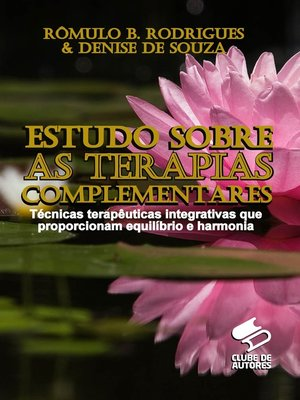 cover image of Estudo sobre as terapias complementares