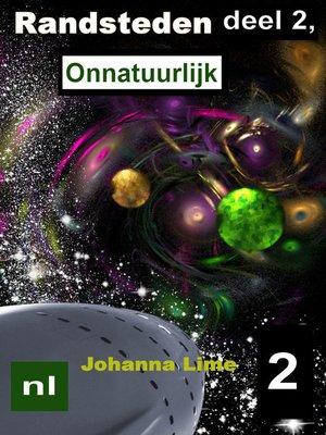 cover image of Randsteden deel 2, Onnatuurlijk