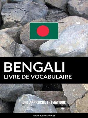 cover image of Livre de vocabulaire bengali