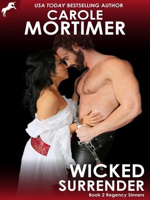 cover image of Wicked Surrender (Regency Sinners 2)
