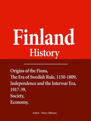 cover image of Finland History